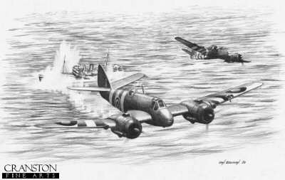 Beaufighter Attack by Ivan Berryman.