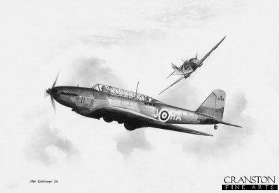 Fairey Battle Mk.I by Ivan Berryman.