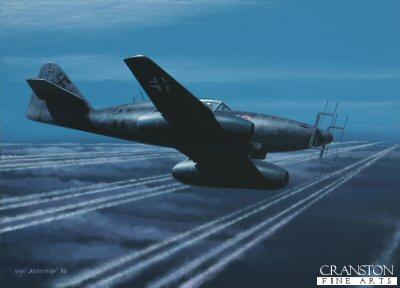 Messerschmitt Me262B-1a/U1 by Ivan Berryman. (GS)