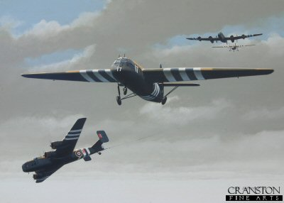 D-Day Invasion : Tribute to the Glider Troops by Ivan Berryman. (P)