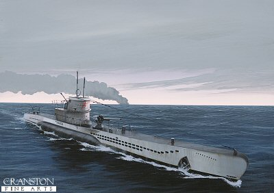 U-552 by Ivan Berryman.
