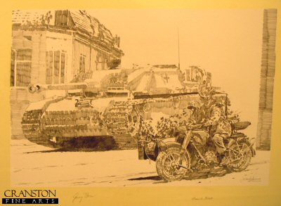 Stug and Motorbike�by Jason Askew. (P)