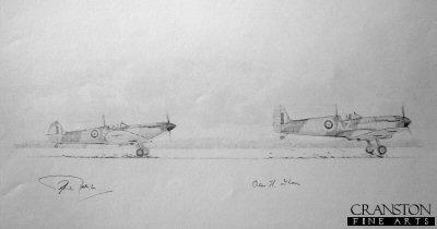 234 Squadron Scramble by Graeme Lothian. (P)