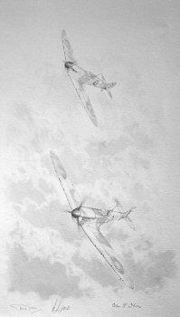 Battle of Britain Ace - Bob Doe, 234 Squadron by Graeme Lothian. (P)
