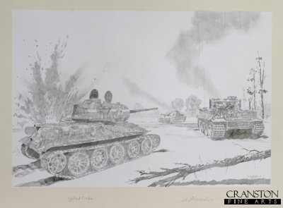 Michael Wittmann - Battle of Kursk by Jason Askew. (P)