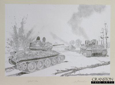 Michael Wittmann - Battle of Kursk by Jason Askew. (P)