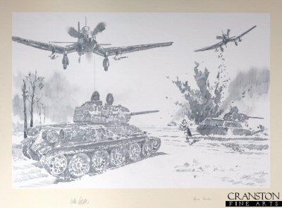 SG77 Stuka Attack by Jason Askew. (P)