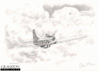 Urban 'Ben' Drew - Aerial Hat-Trick by Brian Bateman. (P)