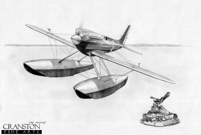 Supermarine S6.B - Schneider Trophy by Ivan Berryman. (AP)