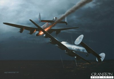 Incident over Mannheim by Ivan Berryman. (B)