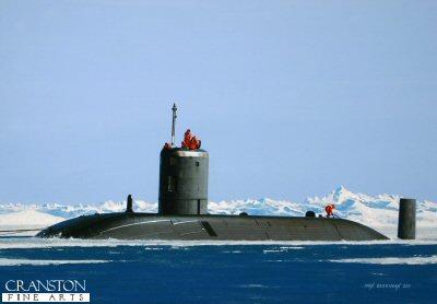 HMS Tireless by Ivan Berryman.