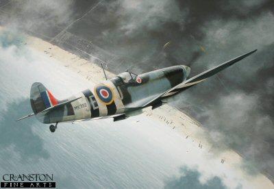 Tribute to Air Vice Marshal James Edgar 'Johnnie' Johnson by Ivan Berryman.
