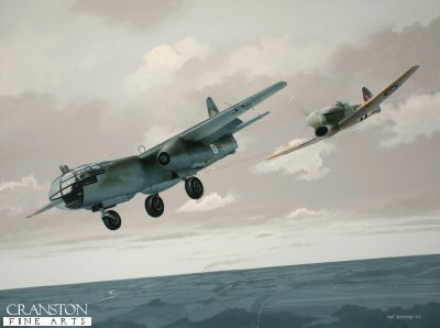 Tribute to Sqn Ldr David Fairbanks by Ivan Berryman. (P)