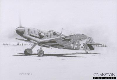 Gunther Rall - Me109 Ace by Ivan Berryman. (AP)