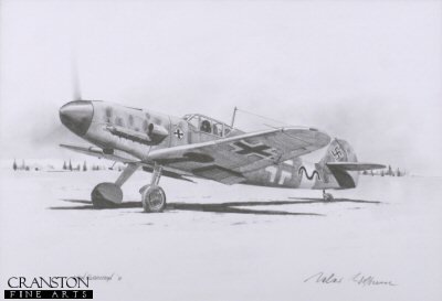 Gunther Rall - Me109 Ace by Ivan Berryman. (P)