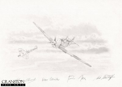 Battle of Britain - Tribute to the Luftwaffe Aces by Graeme Lothian. (P)