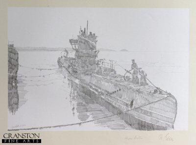 Tribute to the U-Boat Crews - U48 by Jason Askew. (P)