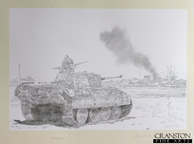 Pather Tanks at Kursk by Jason Askew. (P)