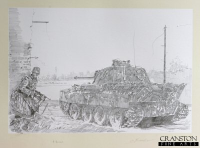 Pather Tank - Fight for Kowel, Poland, March / April 1944 by Jason Askew. (P)