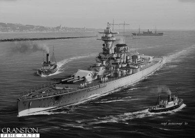 Admiral Graf Spee by Ivan Berryman.