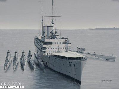 HMS Medway by Ivan Berryman