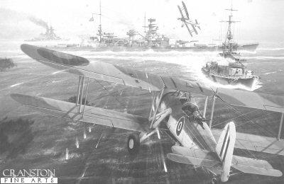 Attack on the Scharnhorst by Ivan Berryman.