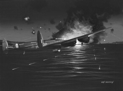 The Dambusters by Ivan Berryman. (P)