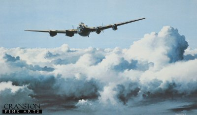 B16.  Chadwicks Masterpiece by Ivan Berryman. <p>When Roy Chadwick first drew the Avro 679 Manchester bomber for the RAF, he could little have known that from this rather lacklustre machine would evolve the classic 683 Lancaster. This painting is not a record of any single event in the Lancasters illustrious history, rather a portrait of a fine aeroplane and a tribute to the many crews who flew and serviced them.<b><p>Signed limited edition of 250 prints. <p> Image size 17 inches x 10 inches (43cm x 25cm)