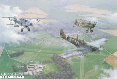 Shuttleworth Salute by Ivan Berryman.