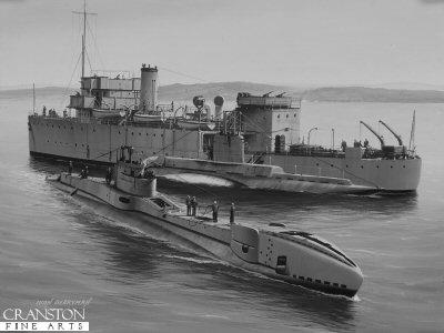 HMS Thunderbolt by Ivan Berryman.