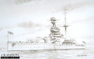 HMS Resolution by Ivan Berryman