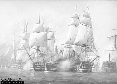 Battle of Trafalgar by Ivan Berryman.