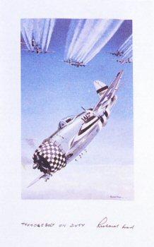 Thunderbolt on Duty by Richard Ward