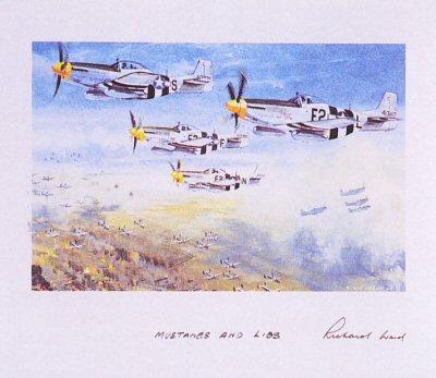 Mustangs and Liberators by Richard Ward