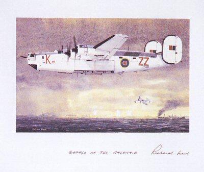Battle of the Atlantic by Richard Ward