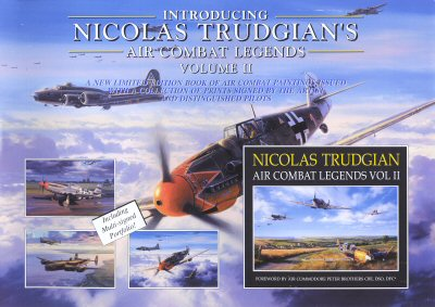 Air Combat Legends Vol II by Nicolas Trudgian. (FLY)