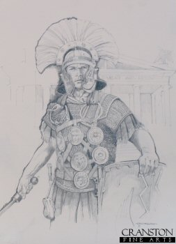 Roman Empire Centurion by Chris Collingwood. (P)