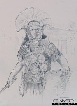 Roman Empire Centurion by Chris Collingwood. (P)