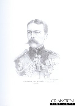 Major General Lord Kitchener of Khartoum c.1899 by Chris Collingwood.