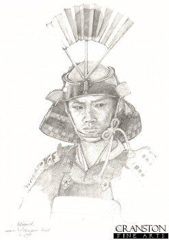 Samurai Warrior by Chris Collingwood.