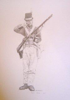 Royal Marines 1805 by Chris Collingwood. (P)