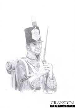 British Infantry, Peninsula War by Chris Collingwood.
