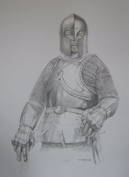 Man at Arms, 1461 by Chris Collingwood (P)