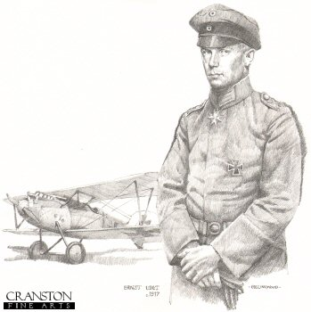 German Ace Ernst Udet c.1917 by Chris Collingwood.