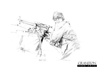 Observer / Gunner, Royal Flying Corps 1917 by Chris Collingwood.