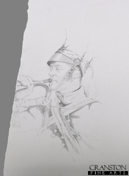 Trumpeter, 17th Lancers by Chris Collingwood. (P)