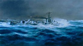 HMS Cavalier by Robert Taylor