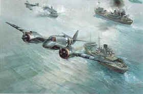 Strike Wing Attack by Frank Wootton.
