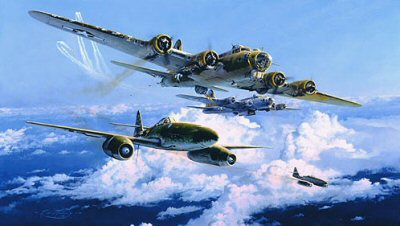 Combat over the Reich by Robert Taylor
