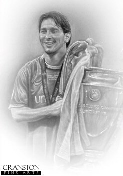 Lionel Messi - Copa De Europa 2011 by Stephen Doig.